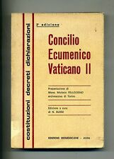 CONCILIO ECUMENICO VATICANO II # Edizioni Domenicane 1966