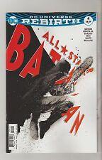 DC COMICS ALL STAR BATMAN #4 JANUARY 2017 REBIRTH JOCK VARIANT 1ST PRINT NM