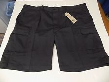 LEVI CARRIER CARGO SHORTS WAIST SIZE 52 -DARK GREY- NWT