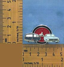 EJ & EH Holden Grey and White Sedan & Wagon Quality Metal Lapel Pin / Badge