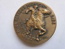 Paul Revere's Midnight Ride , Longines Wittnauer , Bronze Medal , # B 720