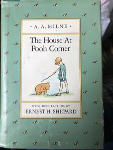 VINTAGE THE HOUSE AT POOH CORNER by A. A. Milne 1988 Edition