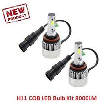 Ford C-Max (2010-) H11 Fog Light COB LED 8000 Lumens Bulb Kit 6500K Bright White