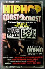 Hip Hop Coast 2 Coast: Dr. Dre, Mack 10, Master P(Cassette, 1998, Priority) NEW