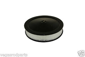 "14 "" inch  Black Air Cleaner Chevy Ford Chevrolet Dodge Chrysler 4-Barrel Box"