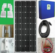 150W 12V Solar Panel kit 20A MPPT Controller battery charger