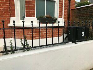 Metal Fencing panel, low wall railings