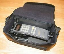 *Untested* Vintage Motorola Gold Series BellSouth Travel Bag Phone (SCN2401B)
