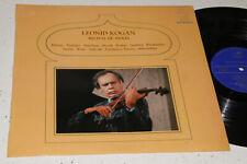 Leonid Kogan VIOLIN RECITAL unique SPAIN STEREO LP HispaVOX HMES 610-34 NM