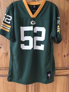 Green Bay Packers Official NFL Youth Size XL (18-20) #52 Matthews Jersey NWOT