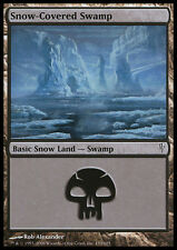Magic the Gathering MTG 1x Snow-Covered Swamp x1 LP/LP+ Coldsnap 99 Available