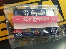 """RAYADOS MONTERREY OFFICIAL BRACELET VOLTOCH FOR WOMEN COLOR PINK """"SOY RAYADA"""""""