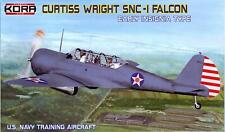 KORA Models 1/72 CURTISS WRIGHT SNC-1 FALCON with Early Type Insignia