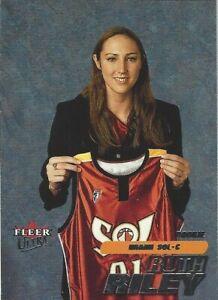 2001 WNBA FLEER ULTRA * RUTH RILEY * ROOKIE CARD #131 * DETROIT SHOCK NOTRE DAME