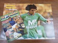 Football Magazine MONDIAL (ONZE) No 12 (1978) Poster ROCHETEAU & JOSE PIRRI Real