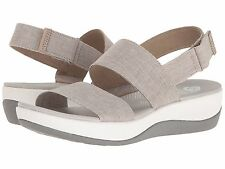 Women's Shoes Clarks Arla Jacory Casual Wedge Sandals 25965 Sand *New*