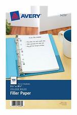"""Avery Mini Binder Filler Paper, College Ruled, 5-1/2"""" x 8-1/2"""", 100 Sheets 14230"""