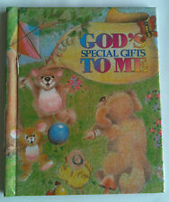 """Children's Personalized Book, """"God's Special Gifts to Me"""" Gift for Christening"""