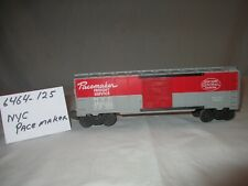 Lionel NYC Pacemaker Freight Car #6464-125, Postwar 1954-56 Gray, O Gauge 3 Rail