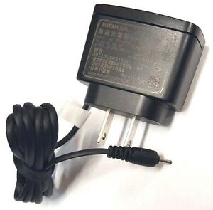 OEM Phone Charger AC3U For Nokia 1200 1208 1209 1680 2600 6085 6086 6101 6263