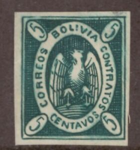Bolivia,Scott#3,5c,MH