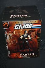 ACTION FIGURE GI Joe Zartan Action figure Mini Statue #rd/1200 SEALED NEW IN BOX