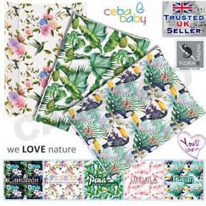 Flora & Fauna collection BABY CHANGING MAT PADDED HARD BASE 70x50cm  NEW line