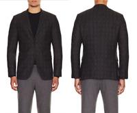 THEORY Wellar Keatz Trim Fit Black Multi Plaid Sport Coat Blazer NEW NWT $675