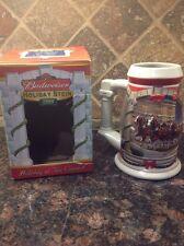 NEW 2001 Budweiser Mug Holiday Stein Holiday at the Capital CS455