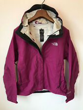 THE NORTH FACE HYVENT COAT/JACKET! WOMENS UK S/M 8/10! PURPLE WATERPROOF LIGHT