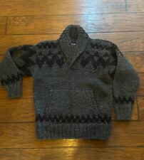 Filson Wolf Pass 20088478 Cowichan Pullover Sweater Wool Knit Bear 5-gauge