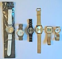 Nouveau, Chico's, Nel Sonic, wrap watch inc. dog, watches for parts or repair