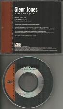 GLENN JONES Here I go Again w/ RARE RADIO EDIT 2TRX PROMO CD single MINT 1992