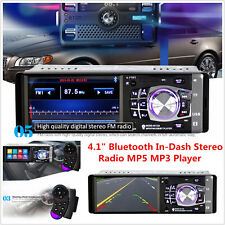 "4.1"" Bluetooth In-Dash Stereo Audio FM Radio LCD HD Car MP5 MP3 USB AUX Player"
