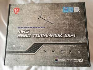 MSI MAG B560 TOMAHAWK WIFI LGA 1200 Socket (Intel) Motherboard
