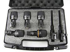 LD Systems D 1017 SET - Mikrofonset für Schlagzeug 7 teilig Schlagzeugmikroset