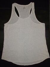 EUC Women's Jrs So Intimates Racerback Tank Top Grey Loose Fit Lounge XL X-Large