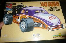 AMT 21363 KING 1940 FORD COUPE EARLY MODIFIED Model Car Mountain KIT 1/25 FS