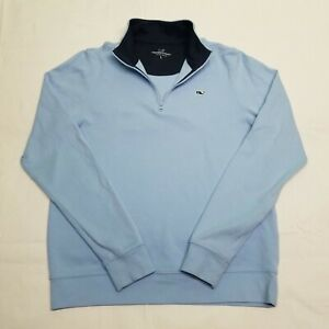 Vineyard Vines Baby Blue Cotton Pullover | Youth Large | Quick Shipping