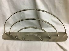 Vintage chrome store counter display lollipop curved unusual