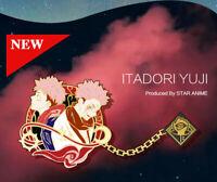 Jujutsu Kaisen Gojo Satoru Ryomen Sukuna Fushiguro Megumi Metal Brooch Badge Pin