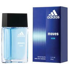 New Adidas Moves Him EDT Spray 1.7 Fl Oz (Retail Box)