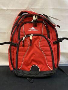 High Sierra Swerve Backpack - Red
