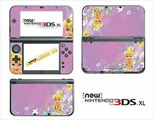 SKIN STICKER AUTOCOLLANT - NINTENDO NEW 3DS XL - REF 69 TINKERBELL