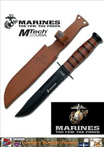MTech USA Marine Combat Knife, Officially Licensed