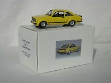 MotorPro FORD ESCORT MK.2  RS1800/RS2000 white metal model car 1:43 scale YELLOW