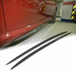 Carbon Fiber Side Skirt for Alfa Romeo Giulia Sedan Rocker Panels Extension Lip