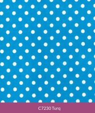 Polycotton Polka Dot Craft Fabrics