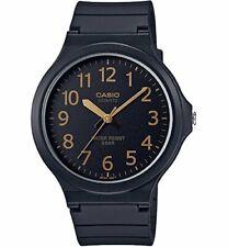New CASIO Analog Watch Black/Gold MW-240-1B2JF Standard Men's From JAPAN