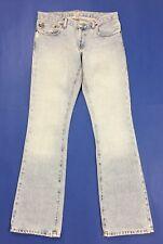 Ralph lauren Kelly jeans W28 L32  tg 42 donna usato a zampa bootcut blu T578